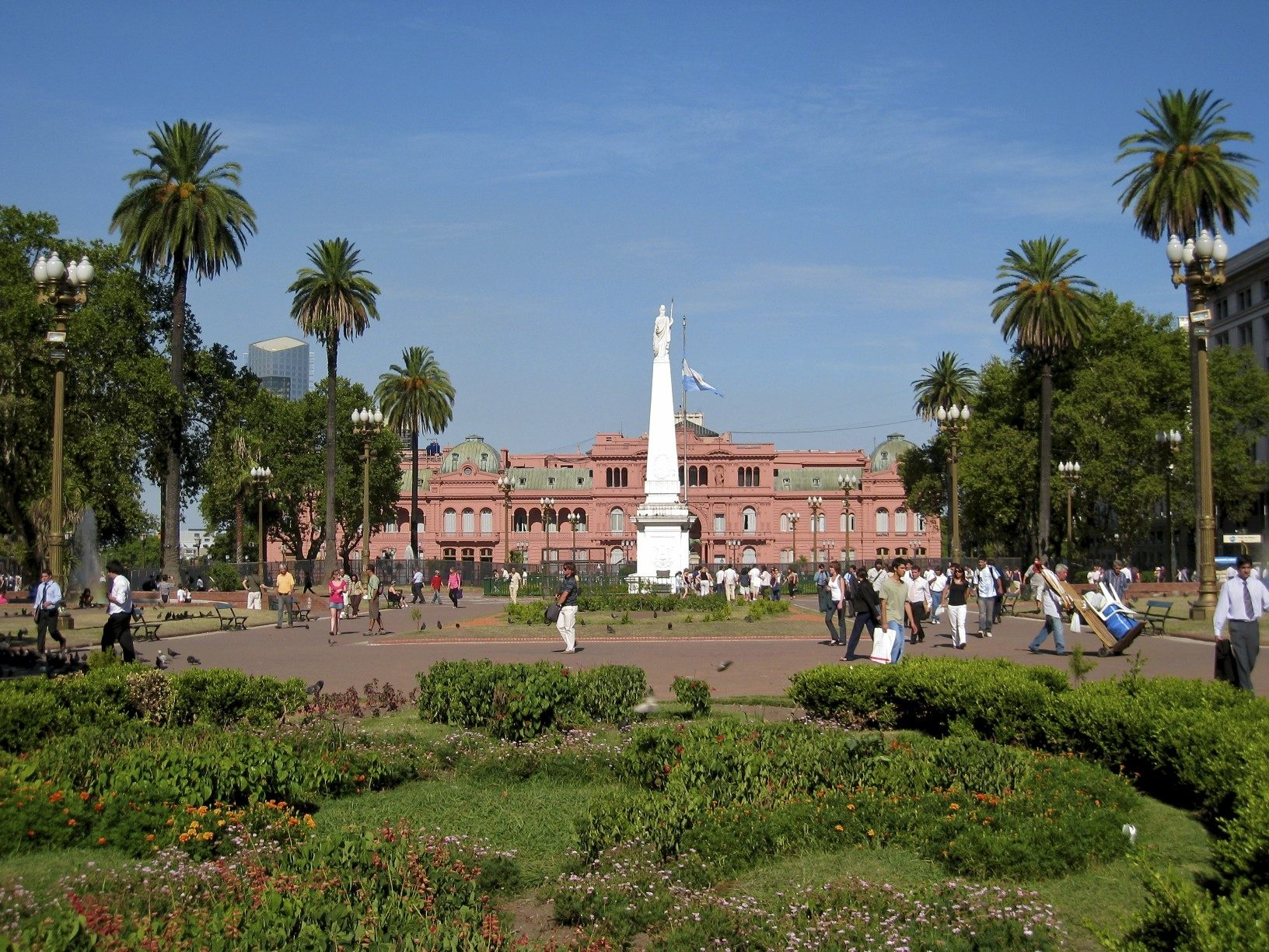 Life in Argentina - Summer in Plaza de Mayo