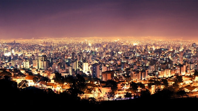 Moving to Brazil - Belo Horizonte at Night